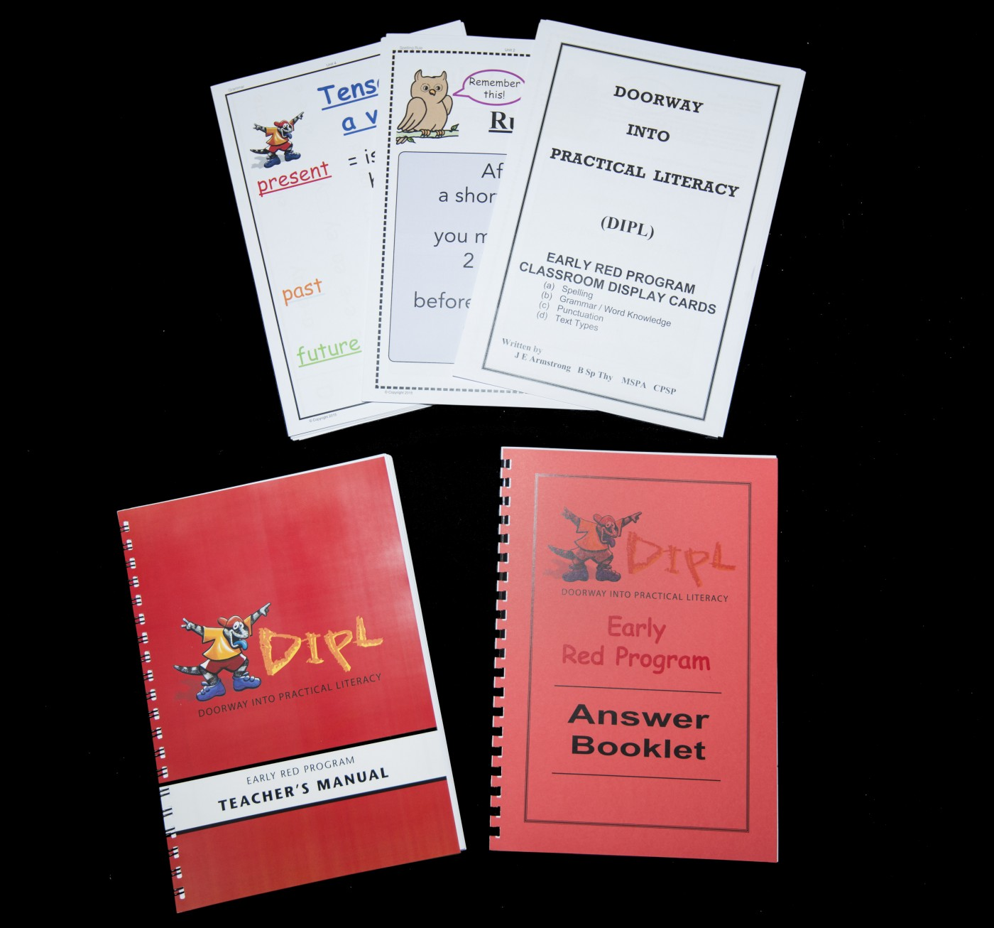 Red Additional Teacher's Manual Set (EARLY, Units 1-15)