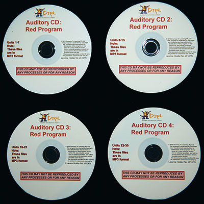 Red Auditory CDs