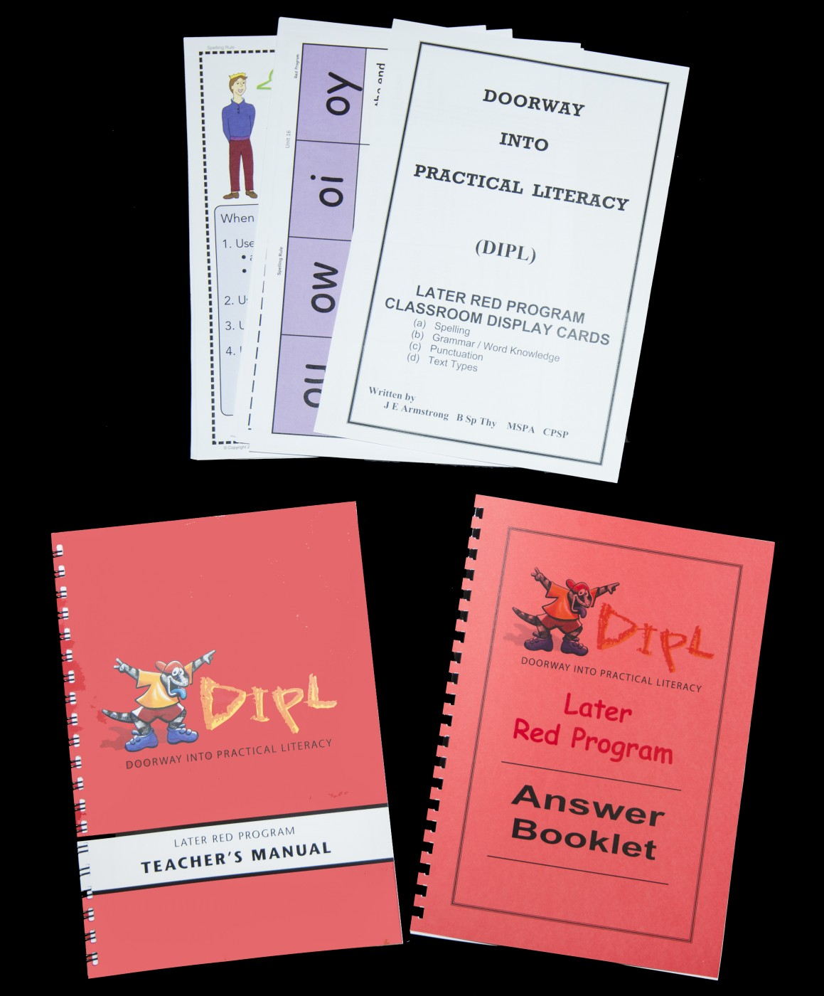 Red Additional Teacher's Manual Set (LATER, Units 16-30)