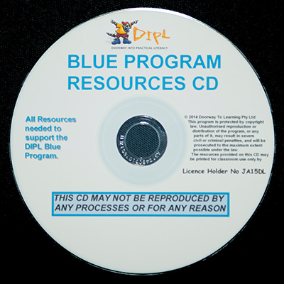 Blue Resources CD