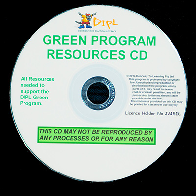 Green Resources CD