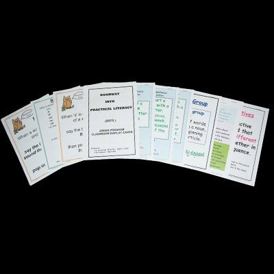 Green Additional Display Cards