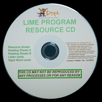 Lime Resource CD
